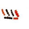 Voskové predtvary pre kovokeramiku frontálne - horné